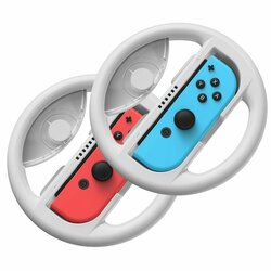 [Pachet 2x] Volan Nintendo Switch Baseus GS03 Set Car Handle For Joy-Con Joystick Pad - GMSWB-0G - Gri