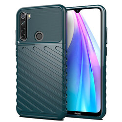 Husa Xiaomi Redmi Note 8T Thunder Flexible Tough TPU - Verde