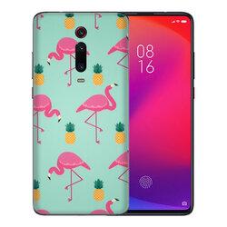 Skin Xiaomi Mi 9T Pro - Sticker Mobster Autoadeziv Pentru Spate - Flamingo