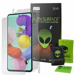 Folie 360° Samsung Galaxy A51 Alien Surface XHD Ecran, Spate, Laterale - Clear
