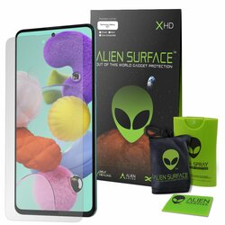 Folie Regenerabila Samsung Galaxy A51 Alien Surface XHD Case Friendly - Clear