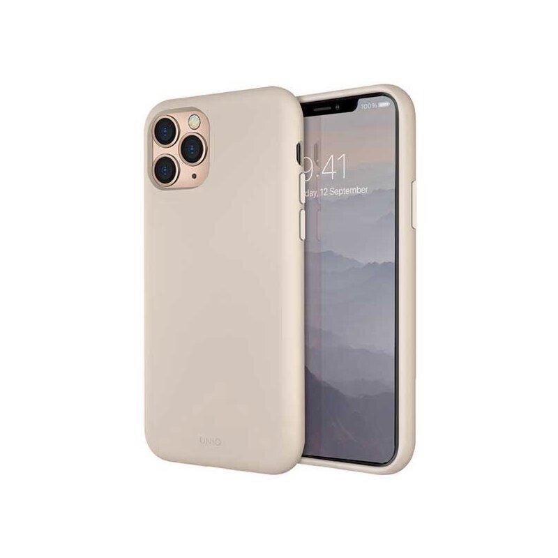 Husa iPhone 11 Pro Max Uniq Lino Hue - Beige