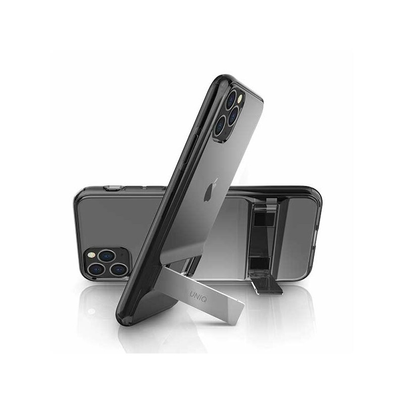 Husa iPhone 11 Pro Max Uniq Cabrio - Smoke