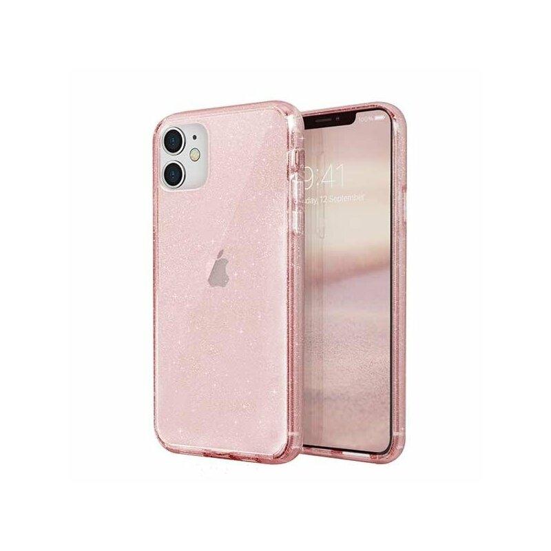 Husa iPhone 11 Uniq LifePro Tinsel - Blush