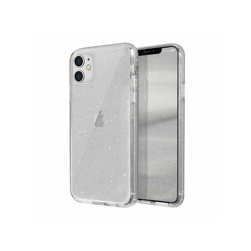 Husa iPhone 11 Uniq LifePro Tinsel - Lucent