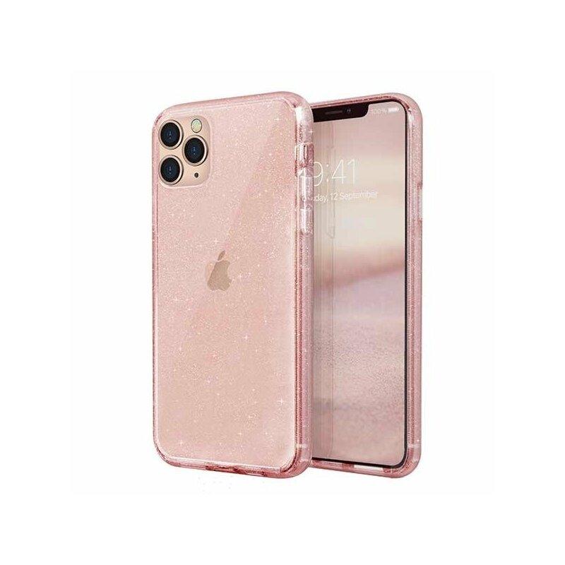 Husa iPhone 11 Pro Max Uniq LifePro Tinsel - Blush