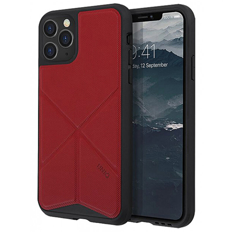 Husa iPhone 11 Pro Max Uniq Transforma - Red