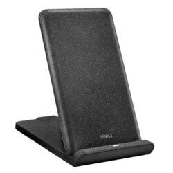 Incarcator Wireless Uniq Vertex Foldable Simple Mechanism 10W - Negru