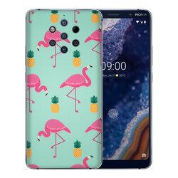 Skin Nokia 9 - Sticker Mobster Autoadeziv Pentru Spate - Flamingo