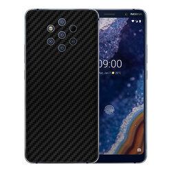 Skin Nokia 9 - Sticker Mobster Autoadeziv Pentru Spate - Carbon Black