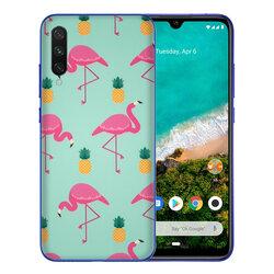Skin Xiaomi Mi A3 / Mi CC9e - Sticker Mobster Autoadeziv Pentru Spate - Flamingo