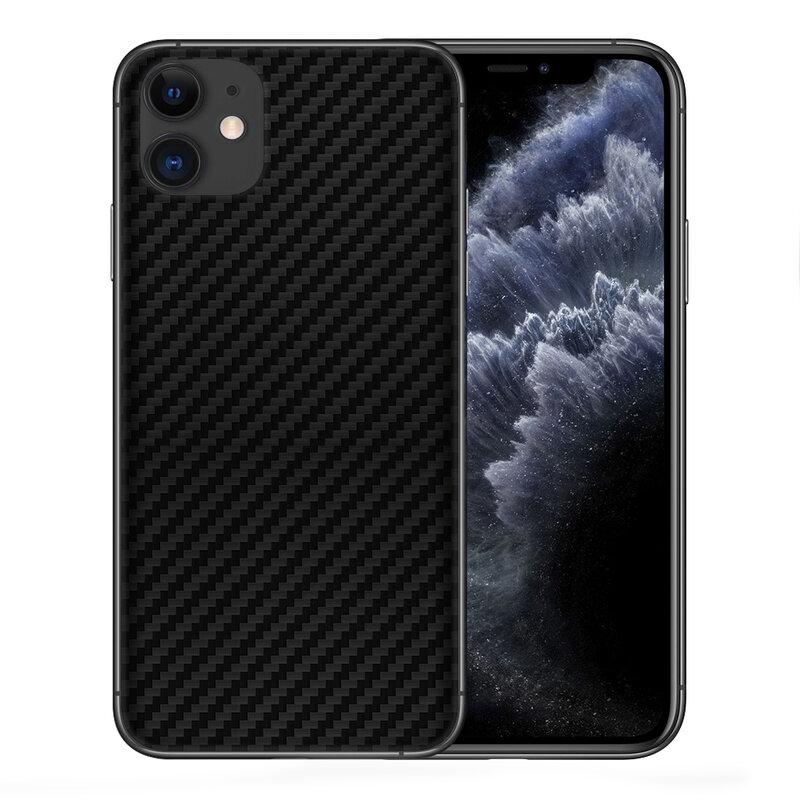 Skin iPhone 11 - Sticker Mobster Autoadeziv Pentru Spate - Carbon Black