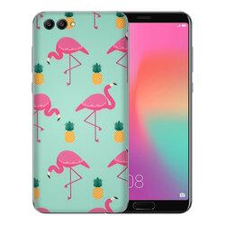 Skin Huawei Honor View 10 - Sticker Mobster Autoadeziv Pentru Spate - Flamingo