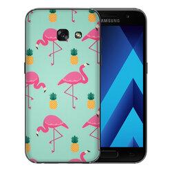 Skin Samsung Galaxy A3 2016 A310 - Sticker Mobster Autoadeziv Pentru Spate - Flamingo