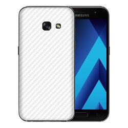 Skin Samsung Galaxy A3 2016 A310 - Sticker Mobster Autoadeziv Pentru Spate - Carbon White