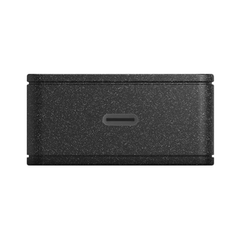 Incarcator Priza Uniq Versa Slim Kit 18W Type-C Universal Adapter + Cablu De Incarcare Type-C 1.2m - Negru
