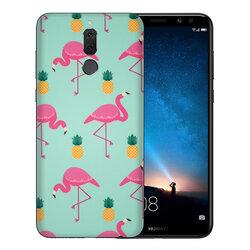 Skin Huawei Mate 10 Lite - Sticker Mobster Autoadeziv Pentru Spate - Flamingo