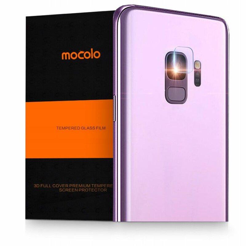 Folie Sticla Camera Samsung Galaxy S9 Mocolo Back Lens 9H - Clear
