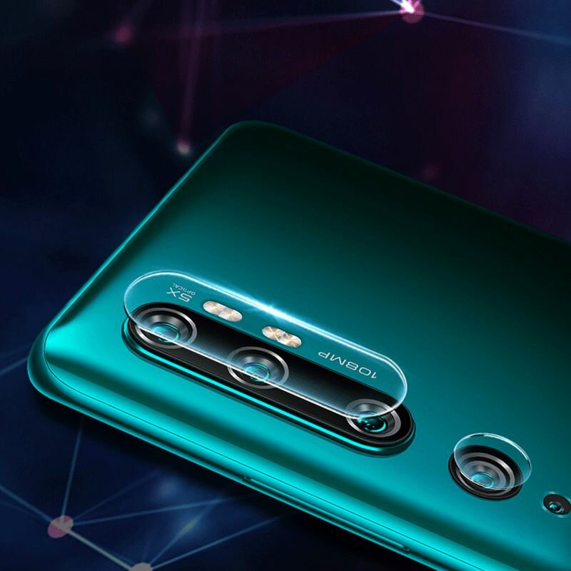 Folie Sticla Camera Xiaomi Mi CC9 Pro Mocolo Back Lens 9H - Clear