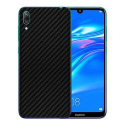 Skin Huawei Y7 Pro 2019 - Sticker Mobster Autoadeziv Pentru Spate - Carbon Black