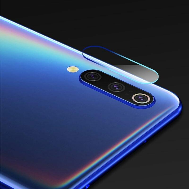Folie Sticla Camera Xiaomi Mi A3 / Mi CC9e Mocolo Back Lens 9H - Clear