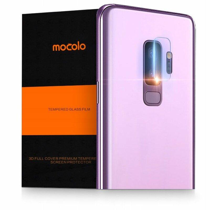 Folie Sticla Camera Samsung Galaxy S9 Plus Mocolo Back Lens 9H - Clear