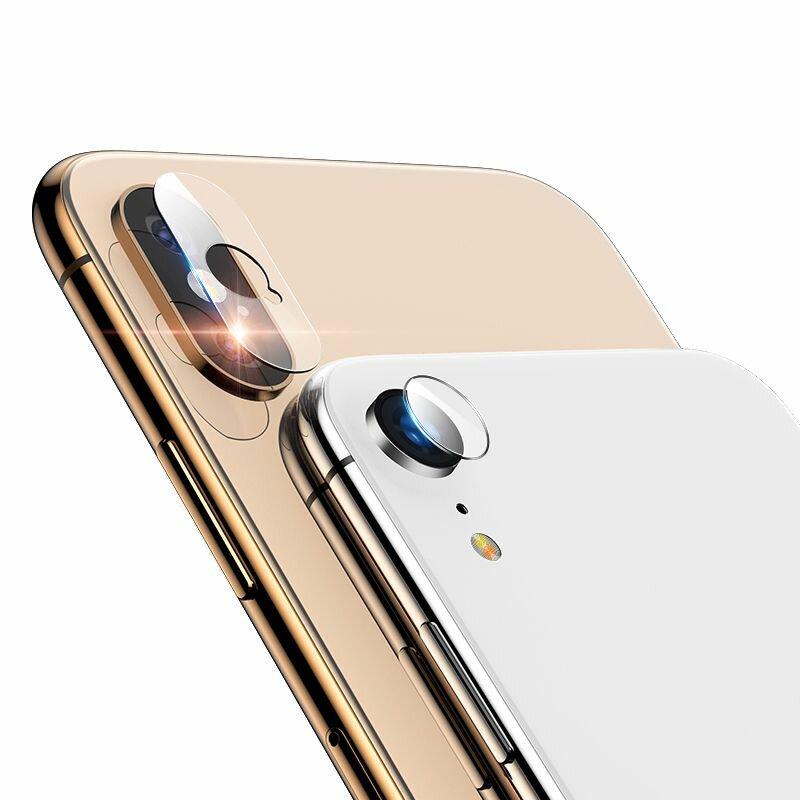 Folie Sticla Camera iPhone XS Mocolo Back Lens 9H - Clear
