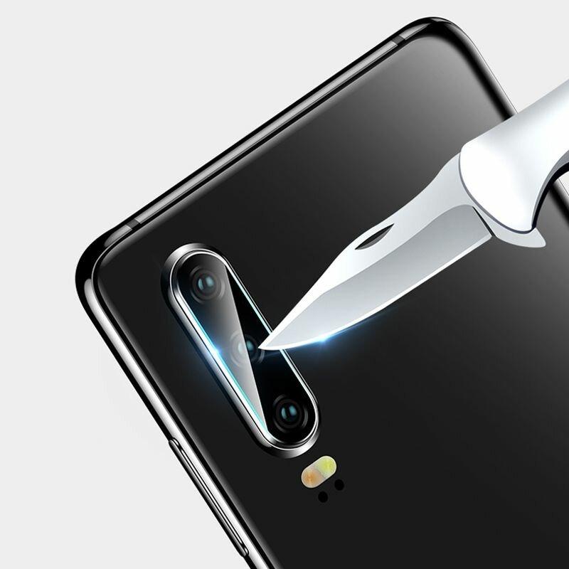 Folie Sticla Camera Huawei P30 Lite Mocolo Back Lens 9H - Clear