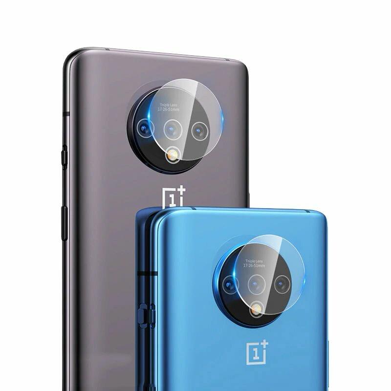 Folie Sticla Camera OnePlus 7T Mocolo Back Lens 9H - Clear