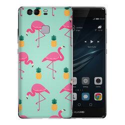Skin Huawei P9 - Sticker Mobster Autoadeziv Pentru Spate - Flamingo