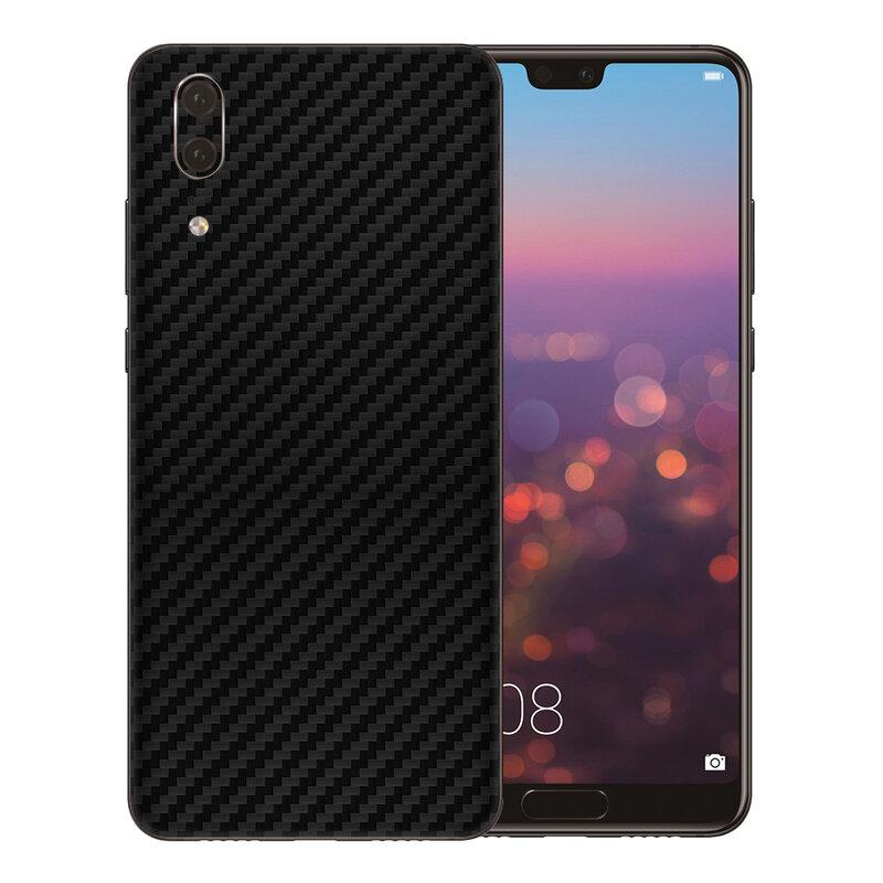 Skin Huawei P20 - Sticker Mobster Autoadeziv Pentru Spate - Carbon Black