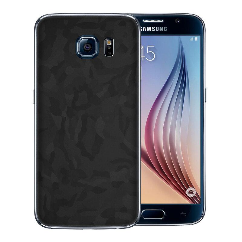 Skin Samsung Galaxy S6 - Sticker Mobster Autoadeziv Pentru Spate - Camo