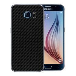 Skin Samsung Galaxy S6 - Sticker Mobster Autoadeziv Pentru Spate - Carbon Black