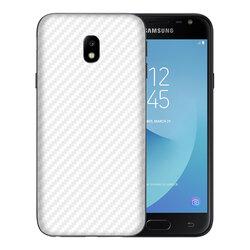 Skin Samsung Galaxy J5 2017 J530, Galaxy J5 Pro 2017 - Sticker Mobster Autoadeziv Pentru Spate - Carbon White