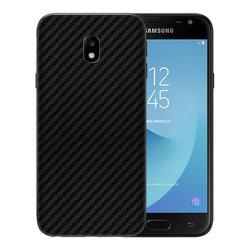 Skin Samsung Galaxy J5 2017 J530, Galaxy J5 Pro 2017 - Sticker Mobster Autoadeziv Pentru Spate - Carbon Black