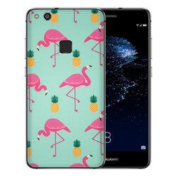 Skin Huawei P10 Lite - Sticker Mobster Autoadeziv Pentru Spate - Flamingo