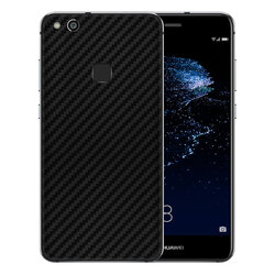 Skin Huawei P10 Lite - Sticker Mobster Autoadeziv Pentru Spate - Carbon Black