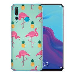 Skin Huawei Nova 4 - Sticker Mobster Autoadeziv Pentru Spate - Flamingo