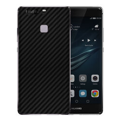 Skin Huawei P10 Plus - Sticker Mobster Autoadeziv Pentru Spate - Carbon Black