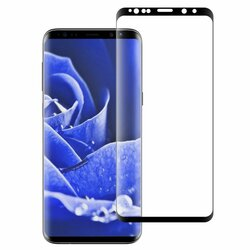 Folie Sticla Samsung Galaxy S9 Plus Mocolo 3D Full Cover - Black