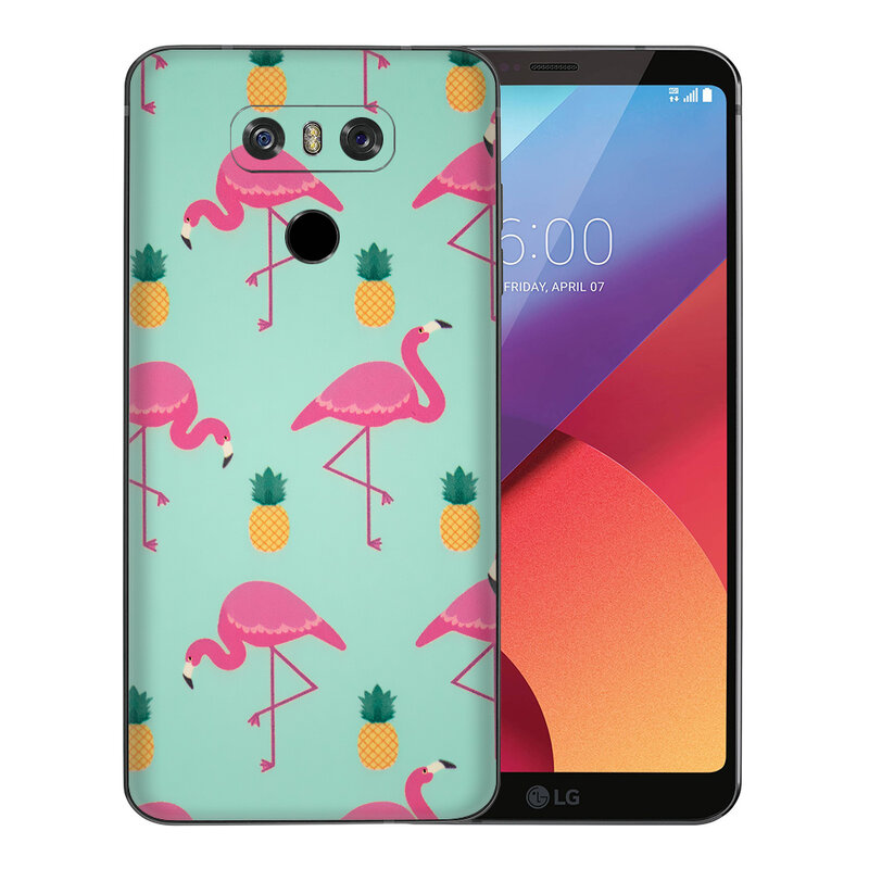Skin LG G6 - Sticker Mobster Autoadeziv Pentru Spate - Flamingo