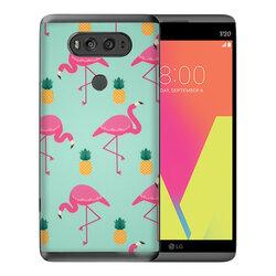 Skin LG V20 - Sticker Mobster Autoadeziv Pentru Spate - Flamingo