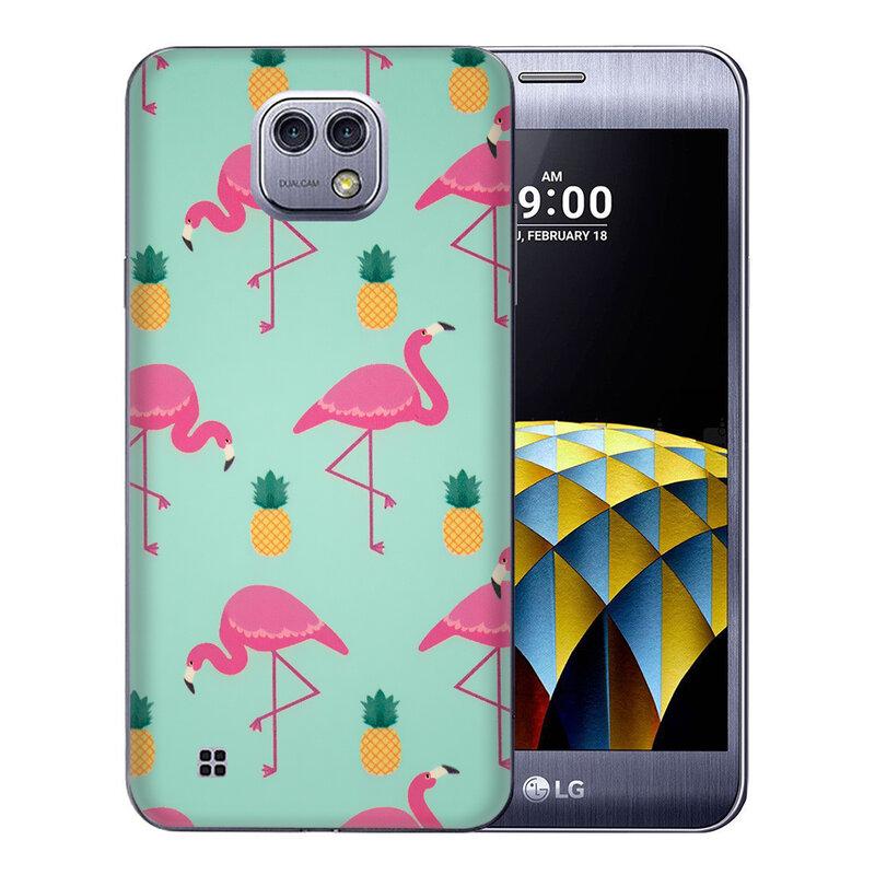 Skin LG X Cam K580 - Sticker Mobster Autoadeziv Pentru Spate - Flamingo