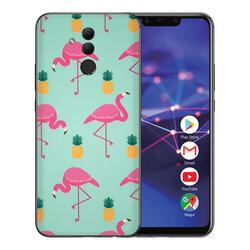 Skin Huawei Mate 20 Lite - Sticker Mobster Autoadeziv Pentru Spate - Flamingo
