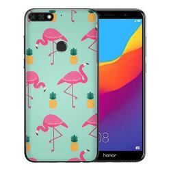 Skin Huawei Honor 7C - Sticker Mobster Autoadeziv Pentru Spate - Flamingo