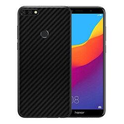 Skin Huawei Honor 7C - Sticker Mobster Autoadeziv Pentru Spate - Carbon Black