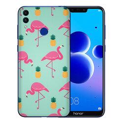 Skin Huawei Honor 8C - Sticker Mobster Autoadeziv Pentru Spate - Flamingo