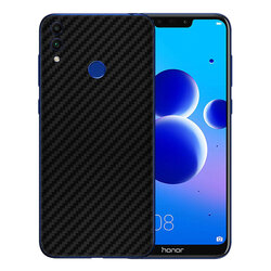 Skin Huawei Honor 8C - Sticker Mobster Autoadeziv Pentru Spate - Carbon Black