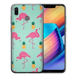 Skin Huawei Honor Play - Sticker Mobster Autoadeziv Pentru Spate - Flamingo