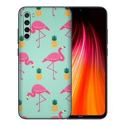 Skin Xiaomi Redmi Note 8 - Sticker Mobster Autoadeziv Pentru Spate - Flamingo